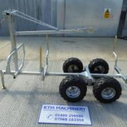 KTM Machinery 1.4 Ton Forestry Timber Trailer