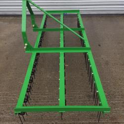 12 Ft Spring Tine Harrows with folding wings 3 Row KTM Machinery Ltd